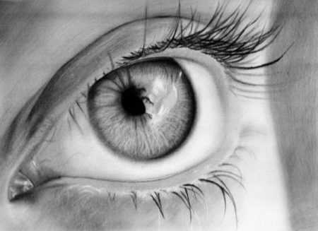 красивые объемные рисунки карандашом