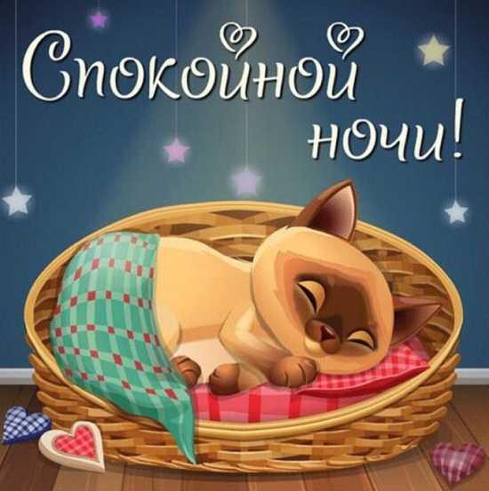 пожелания доброй ночи в картинка очень красивых