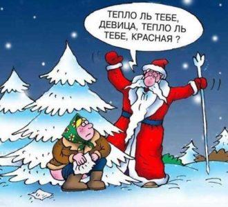Смешные картинки новогодние приколы
