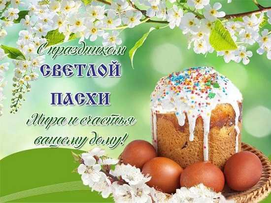 картинки пасхальные яйца в корзине (2)