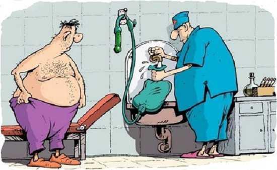 анекдоты про медиков прикольные Б