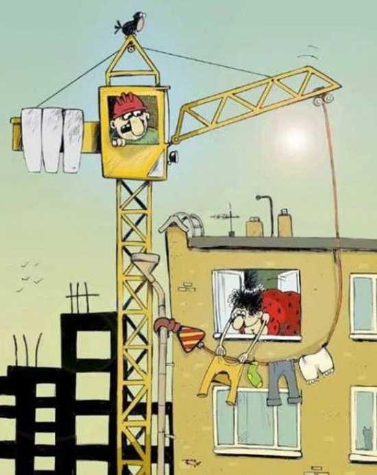 Смешные картинки о строителе, картинки щетки
