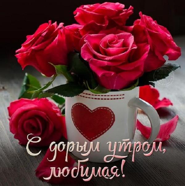 картинки с добрым утром любимая (5)