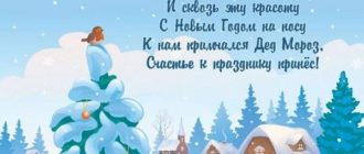 стихотворения про новый год