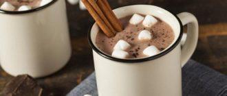 польза горячего шоколада