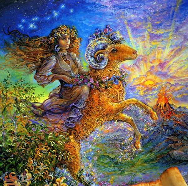 знак зодиака овен женщина