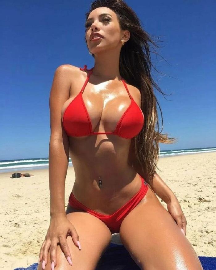фото красивых девушек на пляже (8)