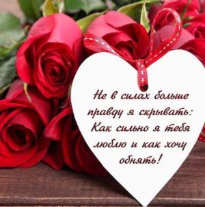 Признания в любви девушке в стихах б