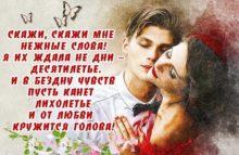 стихи любимой девушки до слез быт