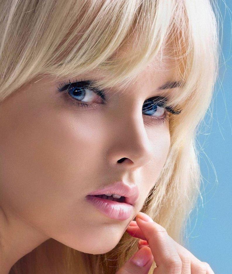 Красивые лица девушек (12)