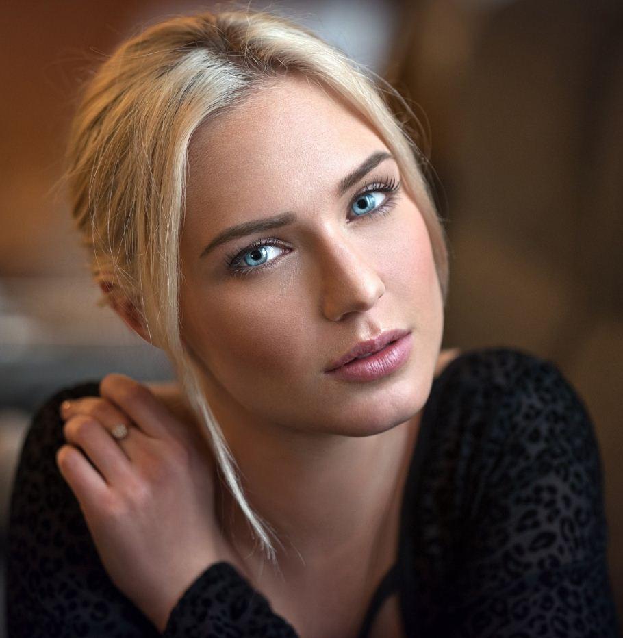 Красивые лица девушек (14)
