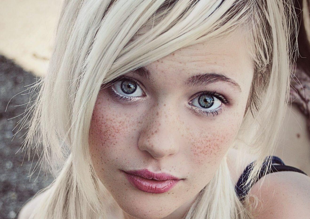 Красивые лица девушек (22)
