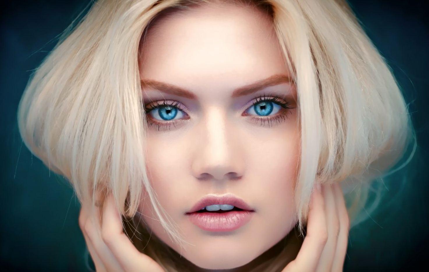 Красивые лица девушек (25)