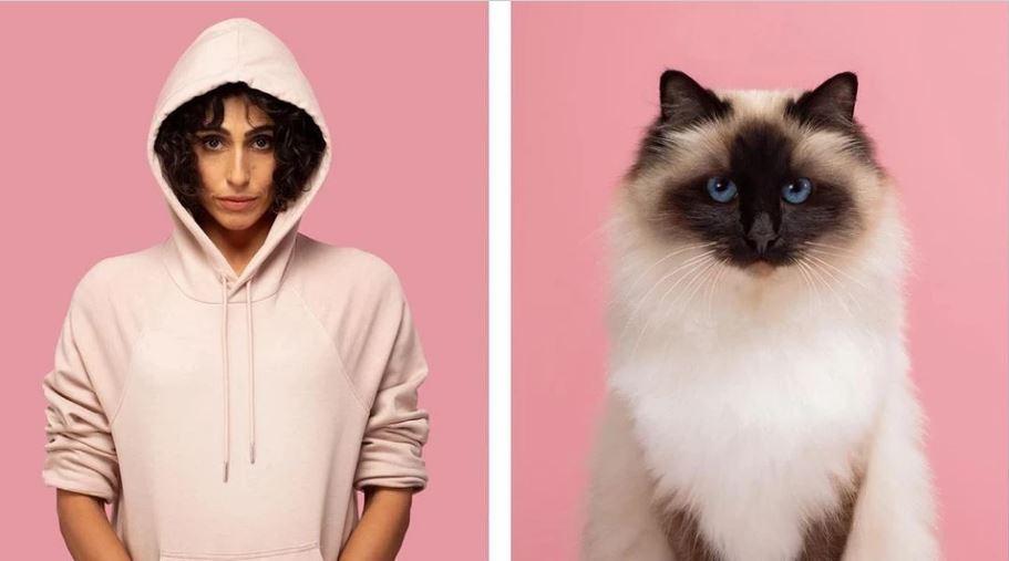 кошки похожие на хозяев (11)