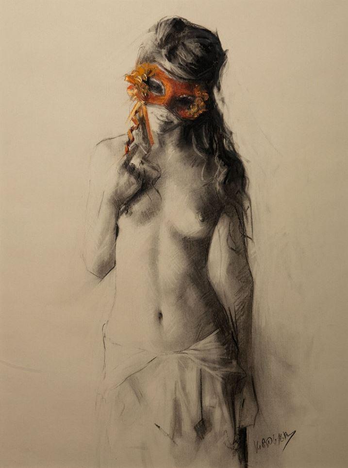 Рисунки голых девушек (10)