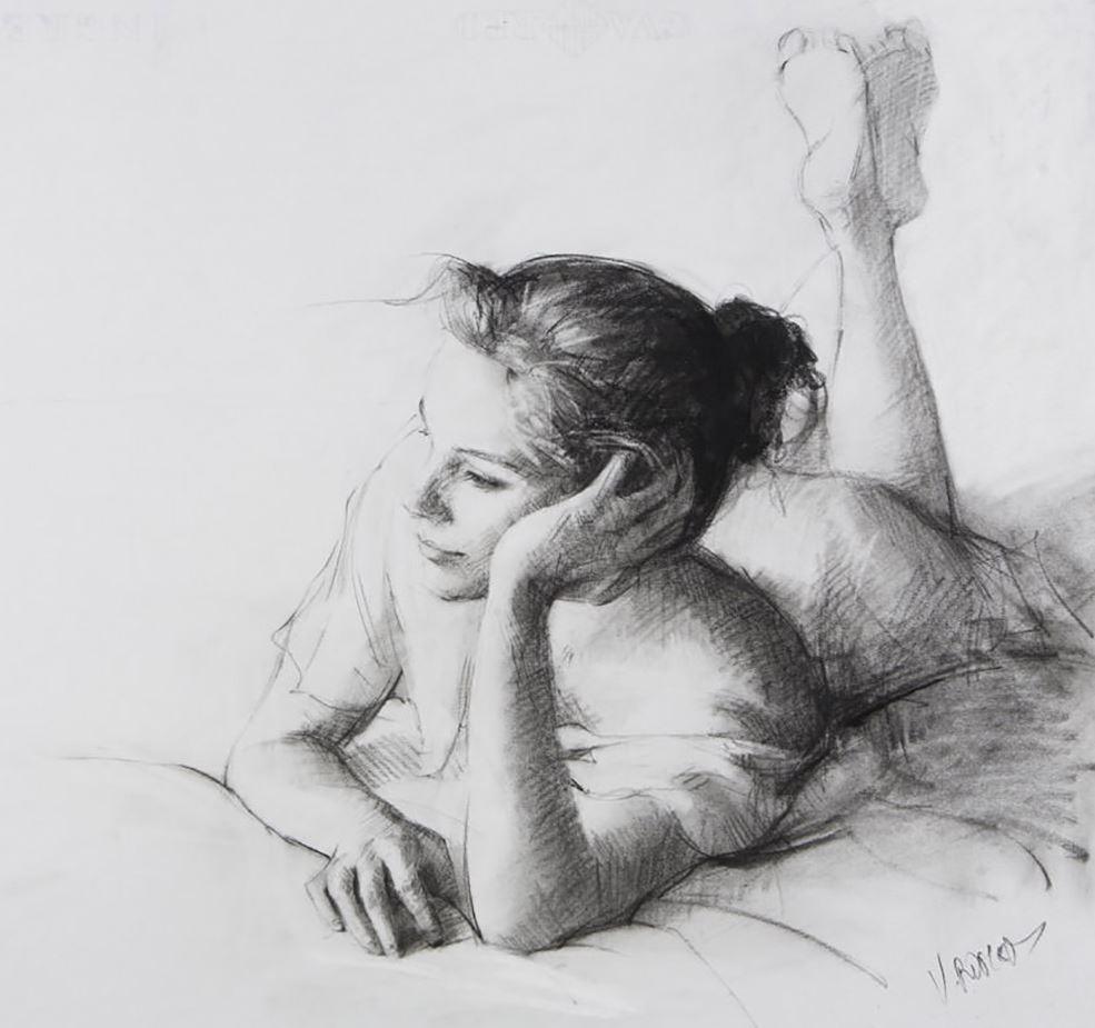 Рисунки голых девушек (15)