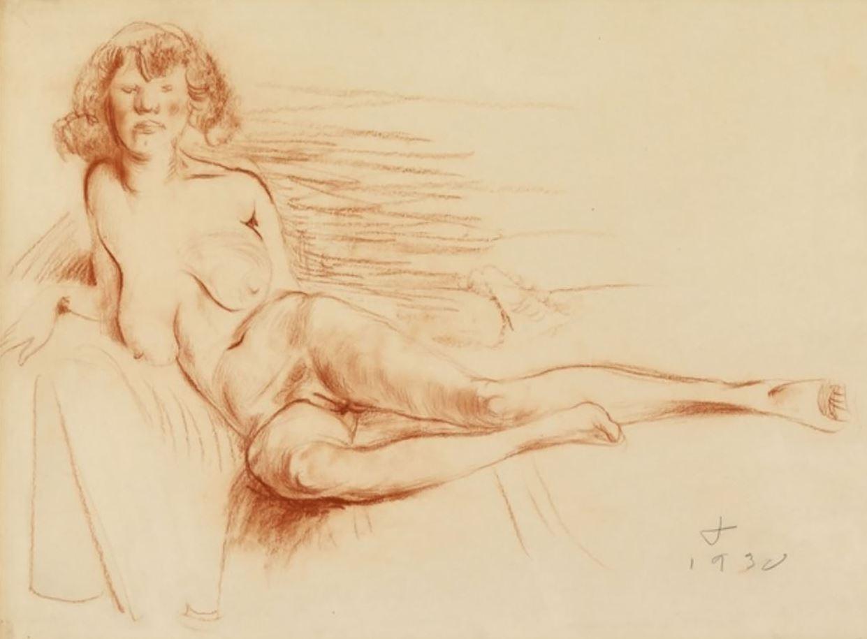 Рисунки голых девушек (18)