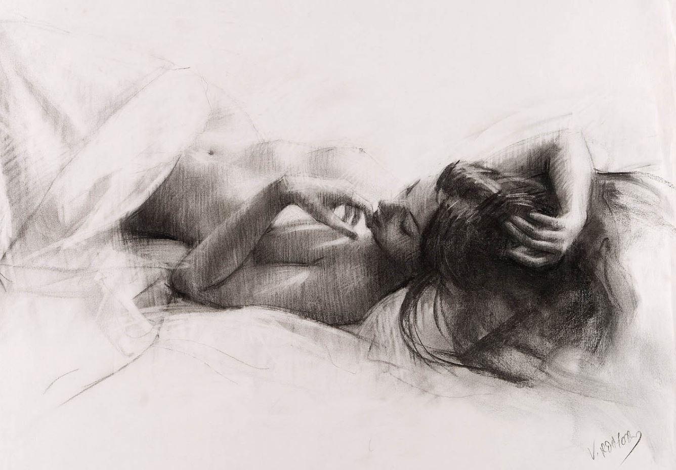 Рисунки голых девушек (19)