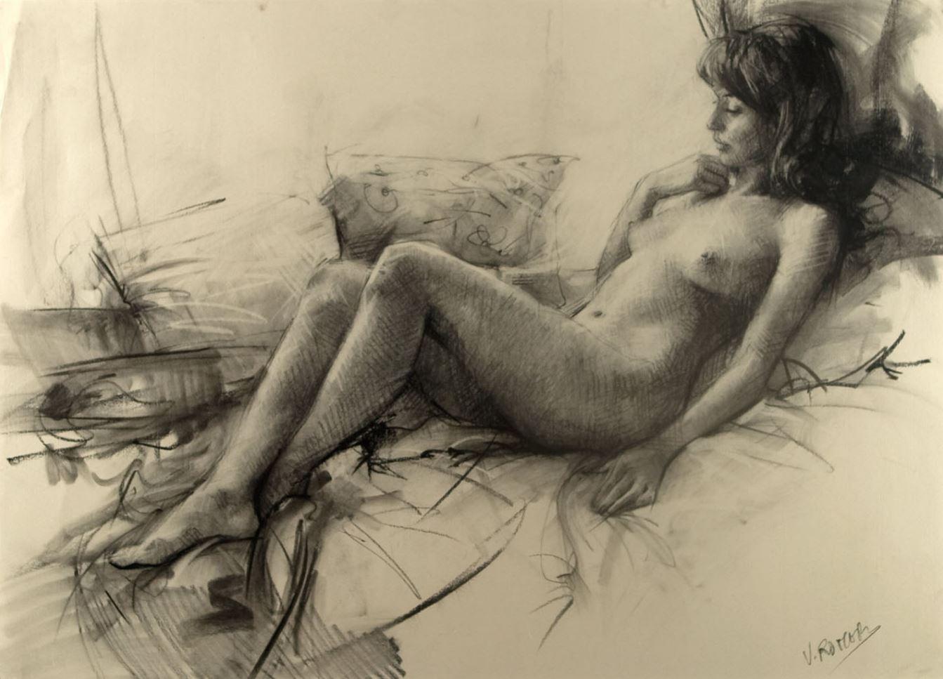 Рисунки голых девушек (2)