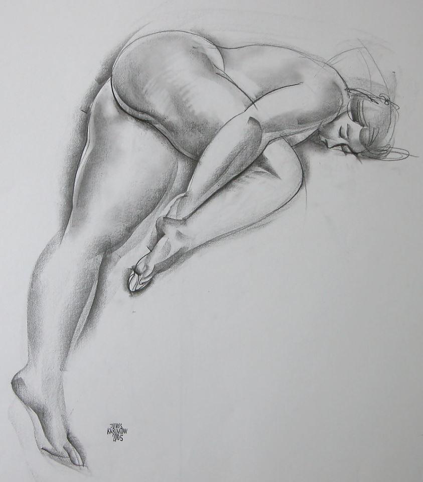 Рисунки голых девушек (4)