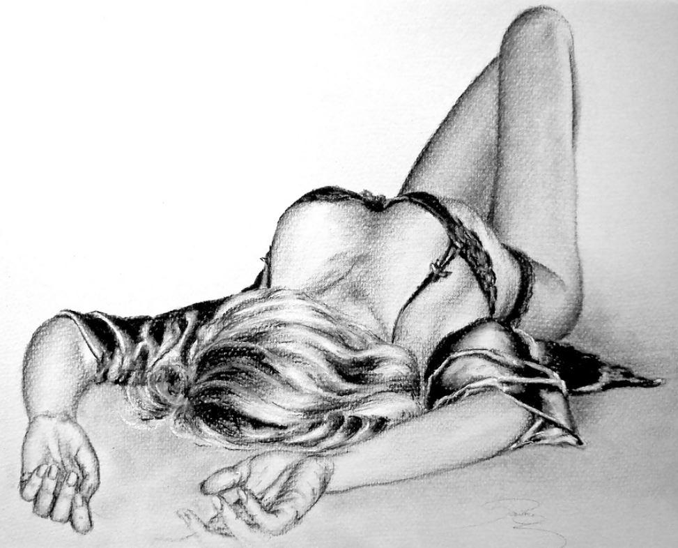 Рисунки голых девушек (5)