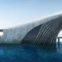 Морская обсерватория в форме кита, позволит посетителям заглянуть под море