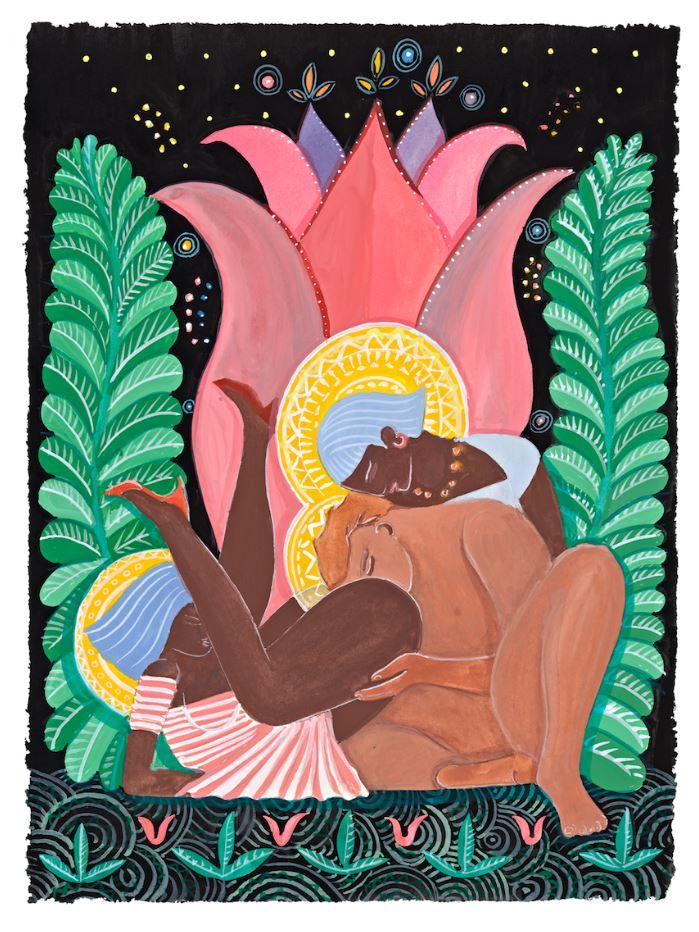 Эротические картины и рисунки художника Альфа Ченнелинга