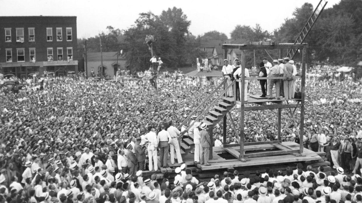 Публичная казнь в США