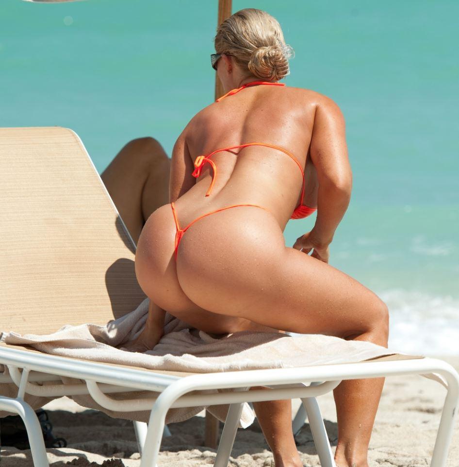 девочка пляж