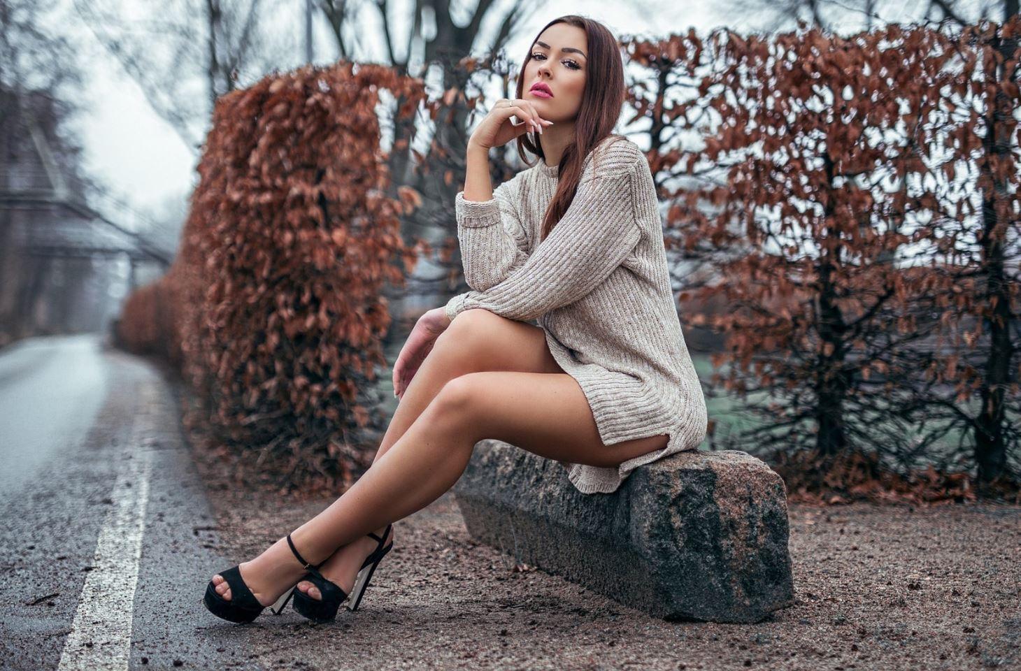 девушки в платьях фото (14)