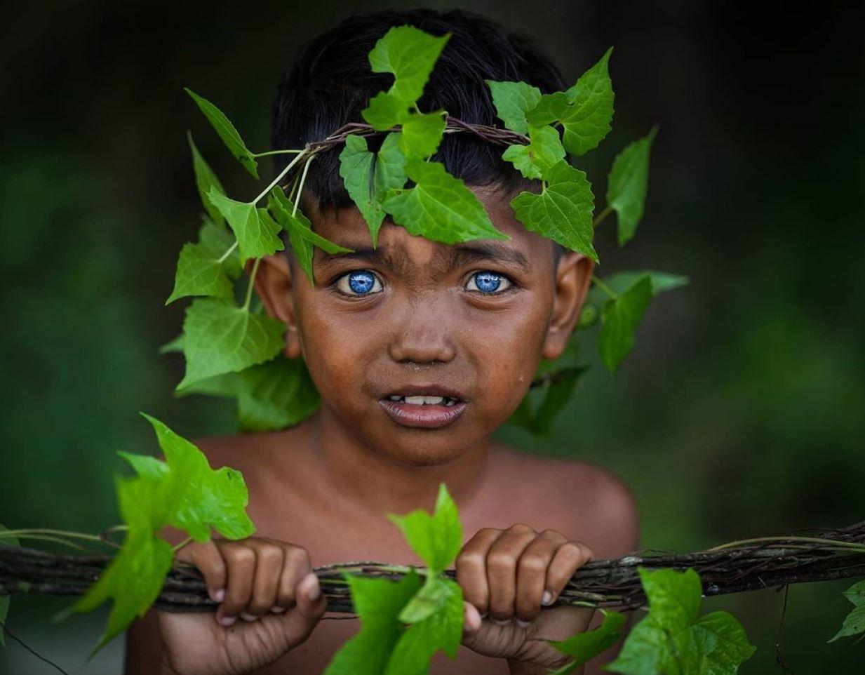 Голубые глаза у людей (4)