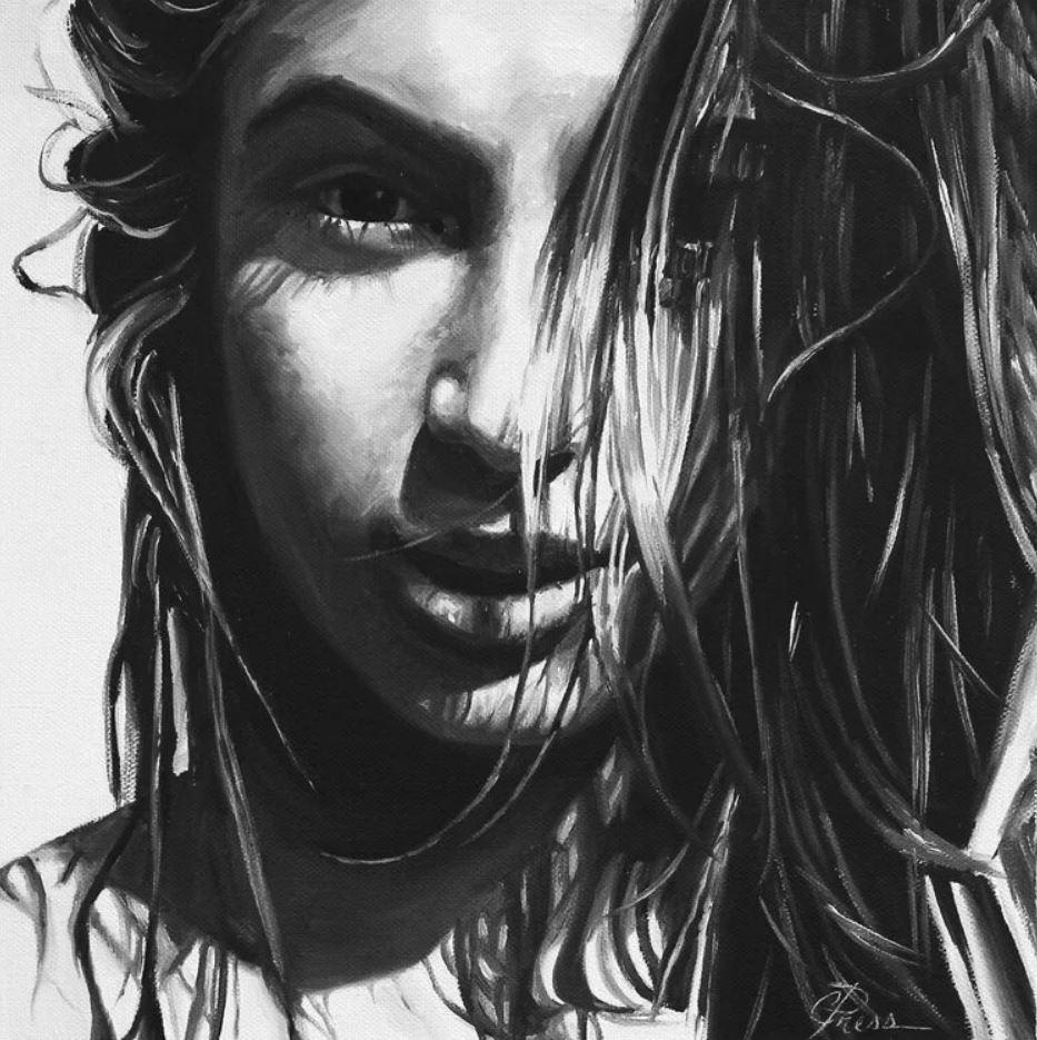 рисунки девушек (10)