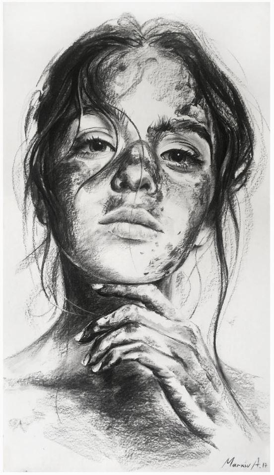 рисунки девушек (16)