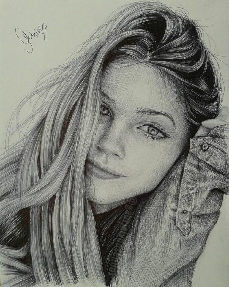 рисунки девушек (17)