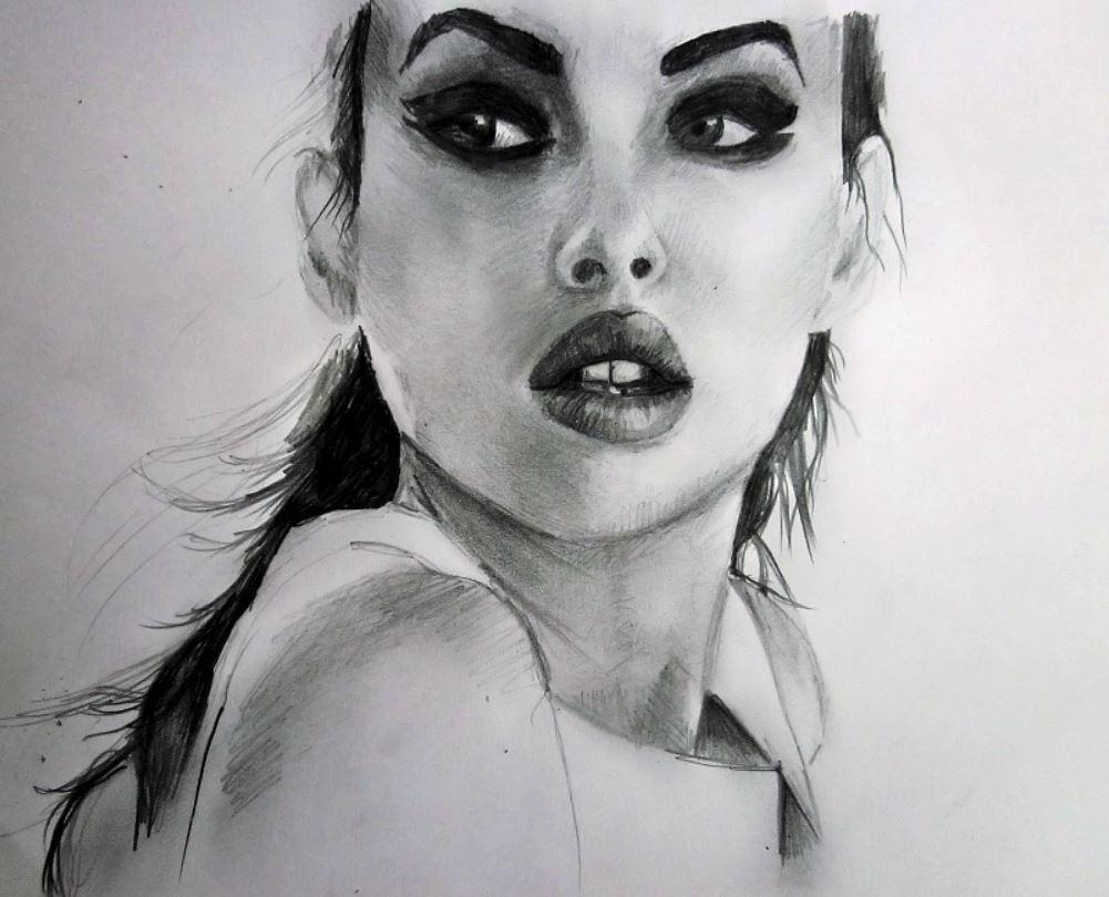 рисунки девушек (18)