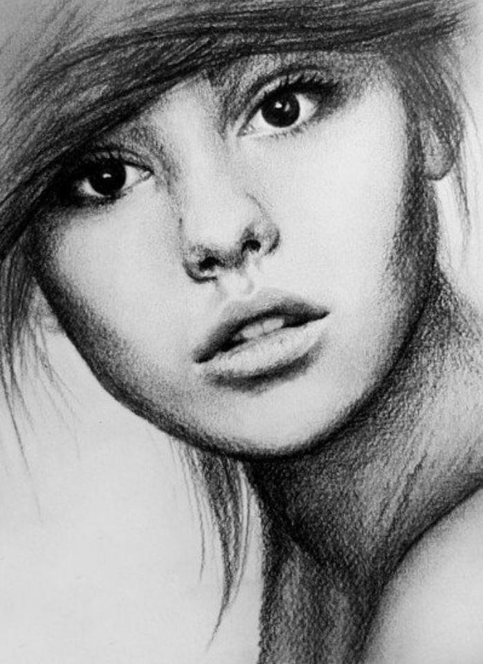 рисунки девушек (19)