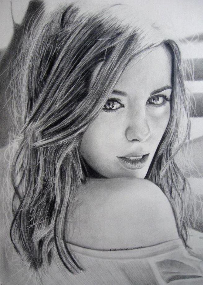 рисунки девушек (22)