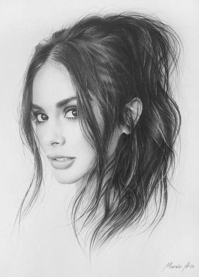 рисунки девушек (23)