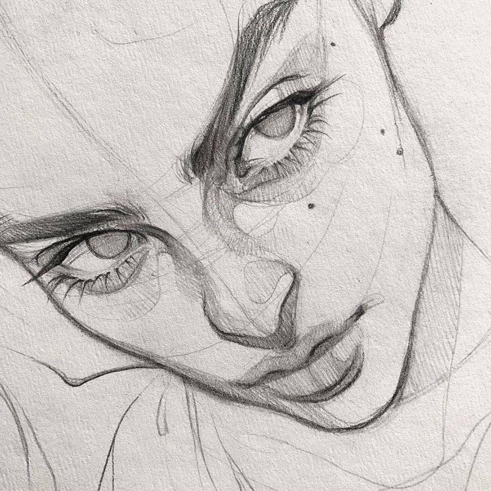 рисунки девушек (24)