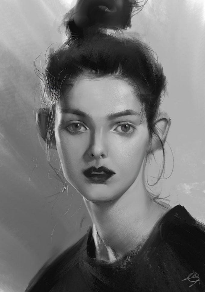 рисунки девушек (25)