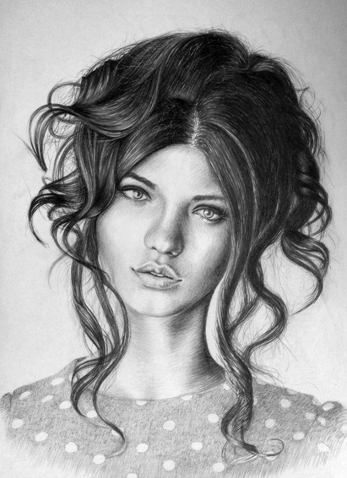 рисунки девушек (6)