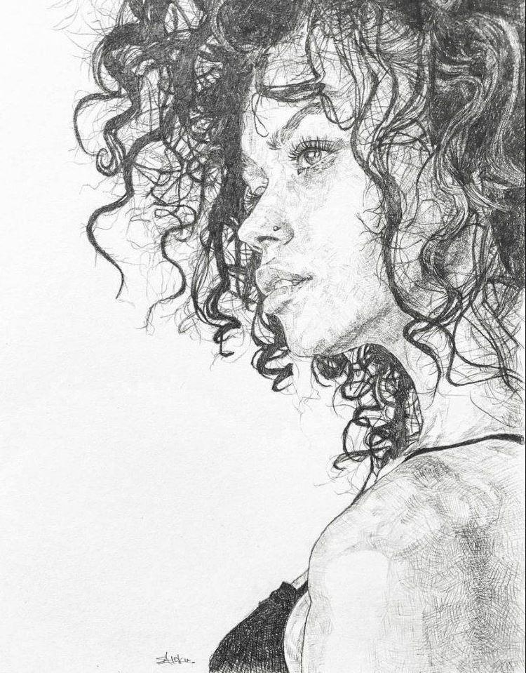 рисунки девушек (7)