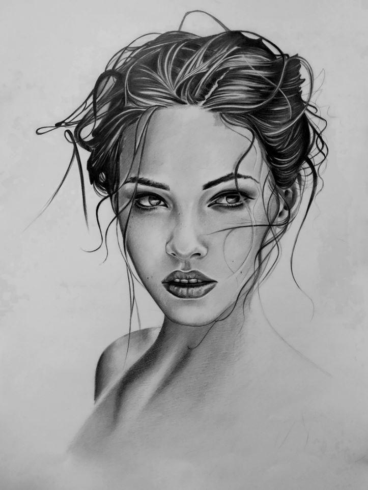 рисунки девушек (9)