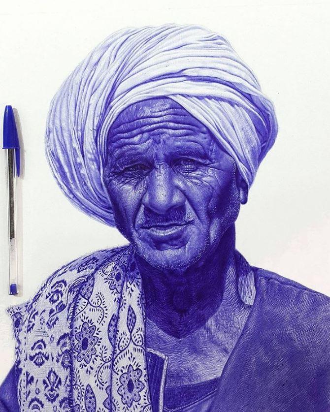 рисунки ручкой (8)