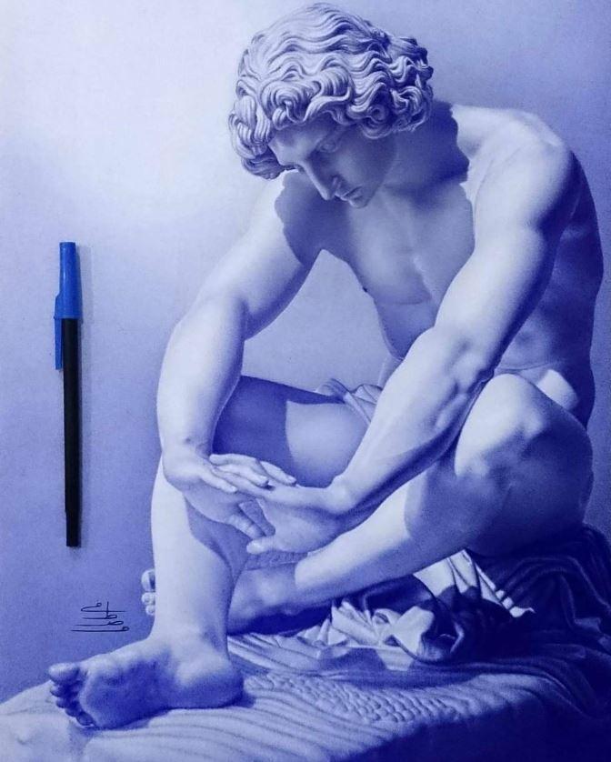 рисунки ручкой (9)