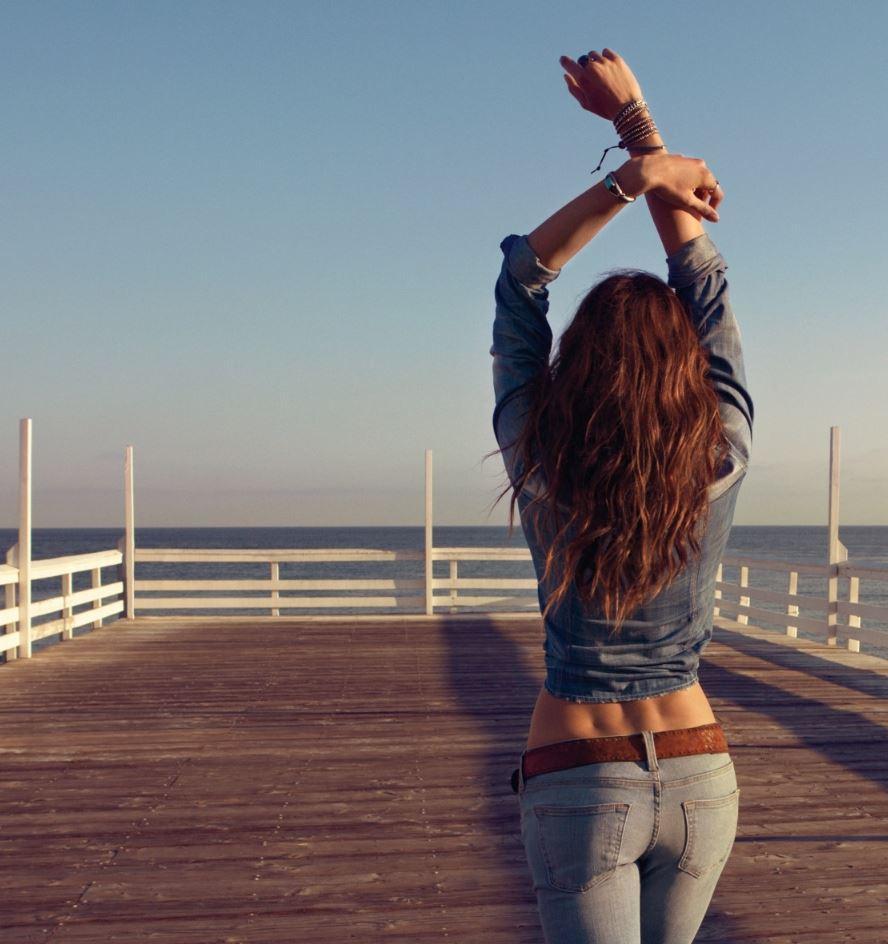 Фото девушек со спины (8)