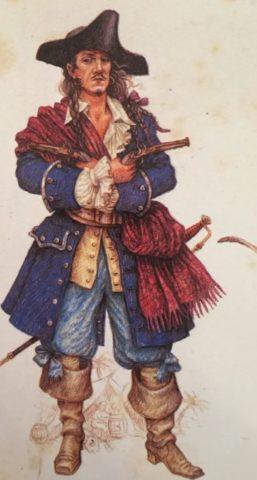 Зачем пираты носили серьгу в ухе (3)