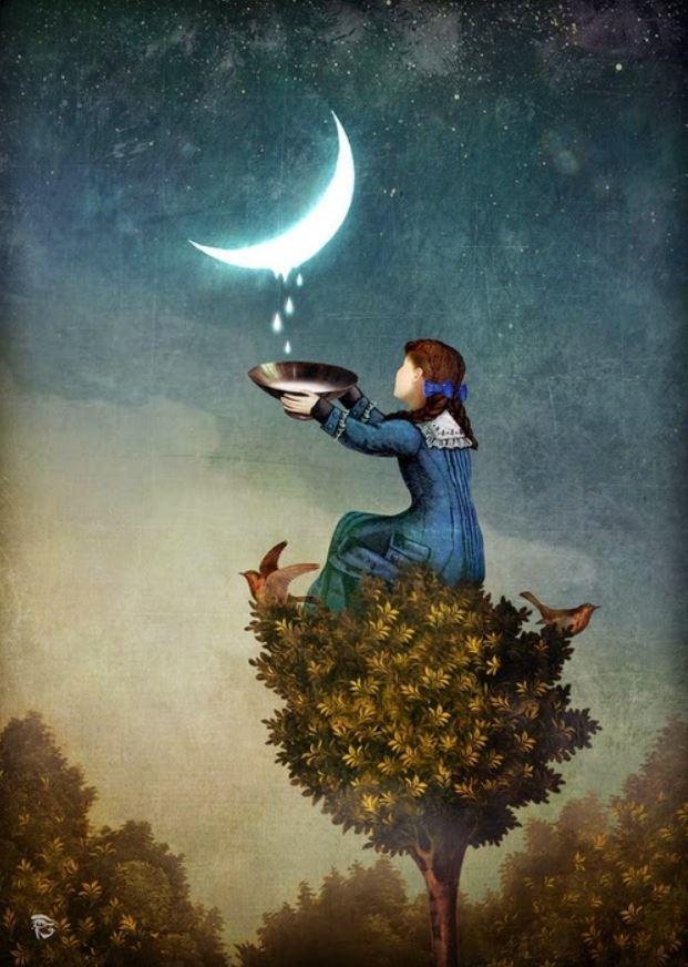 Лунные капли
