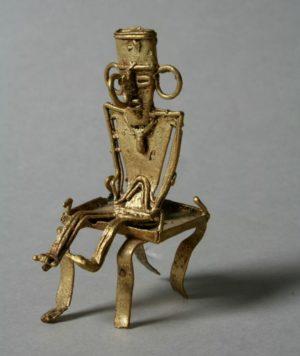 Золотая фигура Муиска