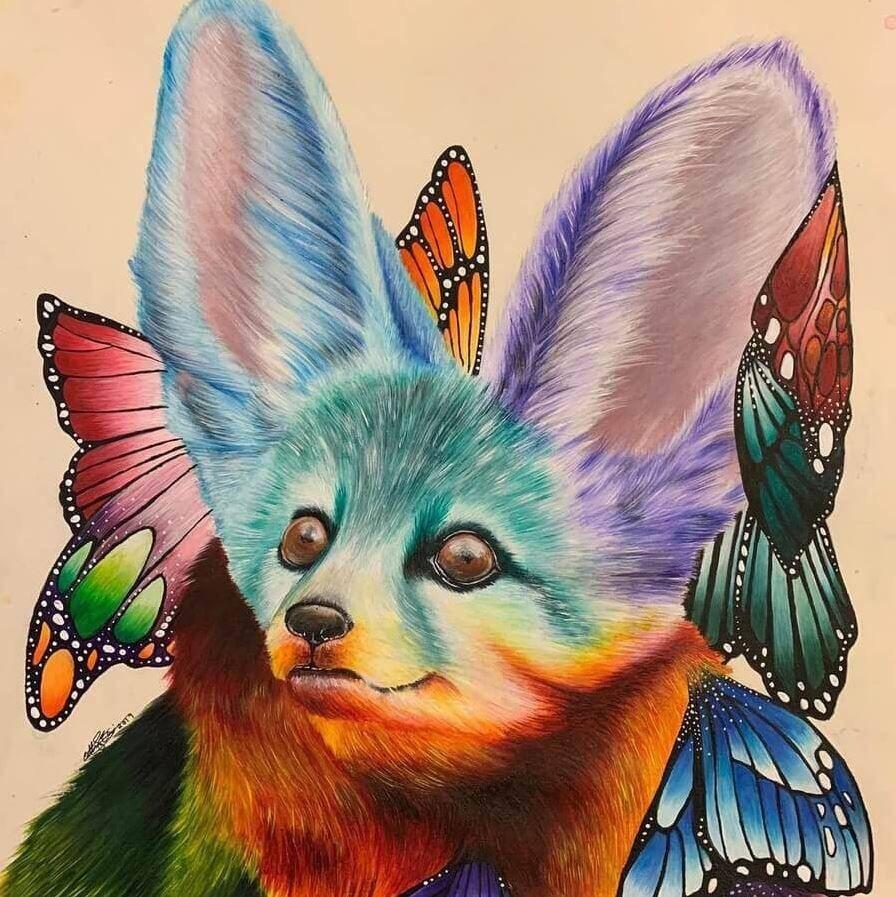 Животные карандашом (3)